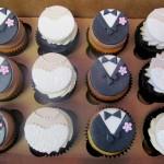 Custom Fondant Cupcakes Bridal