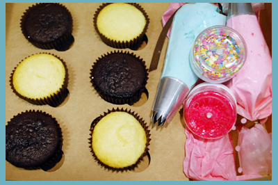Cupcake Party Boxes