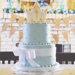 two tier cinderella cake