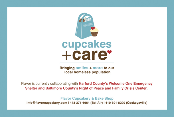 Cupcakes + Care Donation Program