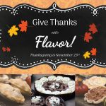 Check out our FLAVORful Thanksgiving menu!