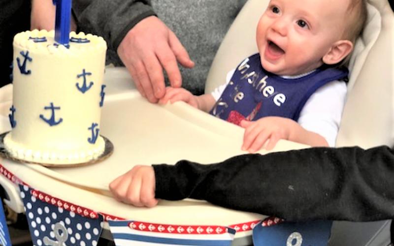 anchor cake birthday smash