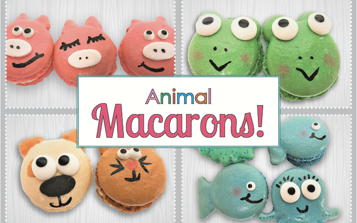 A Fun New Twist on our French Macarons!