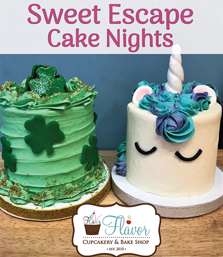 Astounding Sign Up Now For Our March Sweet Escape Cake Nights Birthday Cards Printable Nowaargucafe Filternl