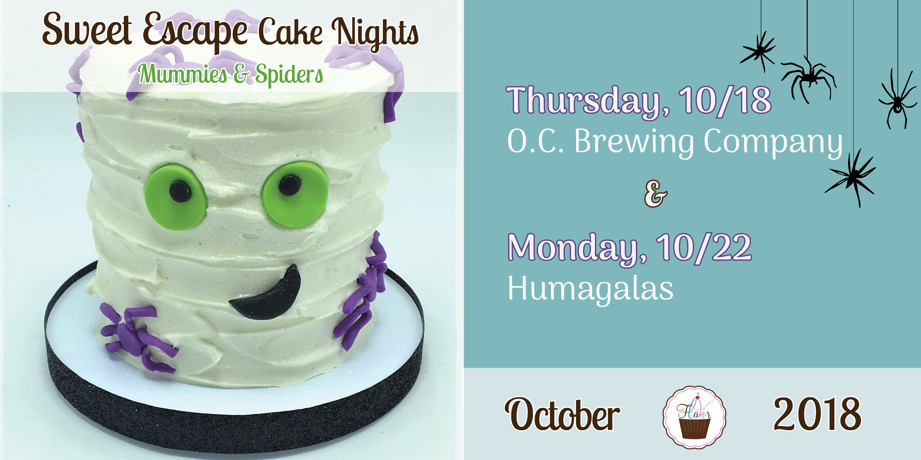 Were Bringing Back Our Sweet Escape Cake Nights Just In Time For Halloween Decorate Your Own Delicious 4 As You Follow Along With Talented