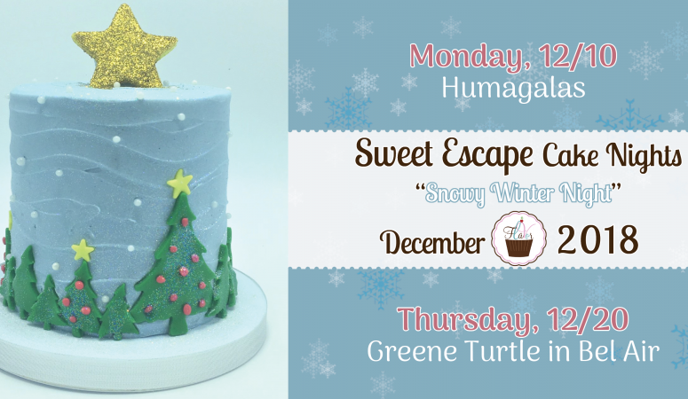 Cake Nights Are Back, Just in Time for the Holidays!