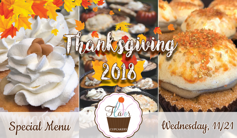 Check Out This Year's Special Thanksgiving Menu!
