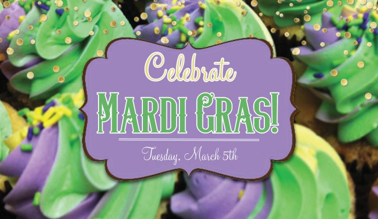 Stop in for our Mardi Gras special!