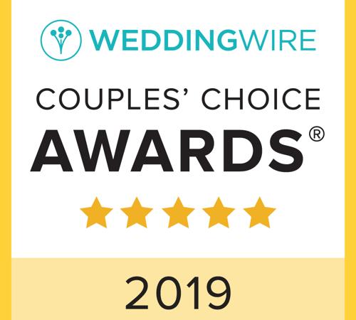 We're a Couples' Choice Award Winner – Again!