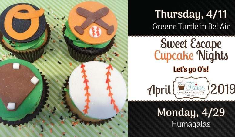 Introducing: Sweet Escape CUPCAKE Nights!