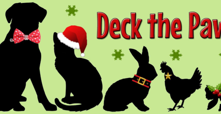 Join Us As We Raise Money For A PAWsome Cause This Holiday Season!