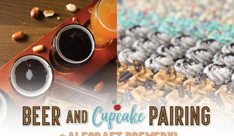 Don't Miss the Beer + Cupcake Pairing at AleCraft Brewery!