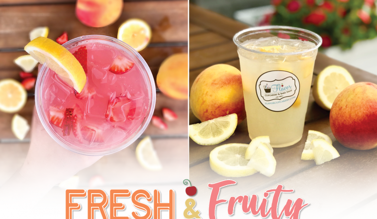 Come Try Our NEW Fresh Fruit Lemonades!